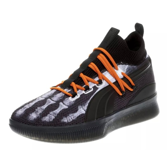 release date 06f8a 3c8c5 Puma Skeleton Clyde Court Disrupt X-RAY 10.5 Shoes